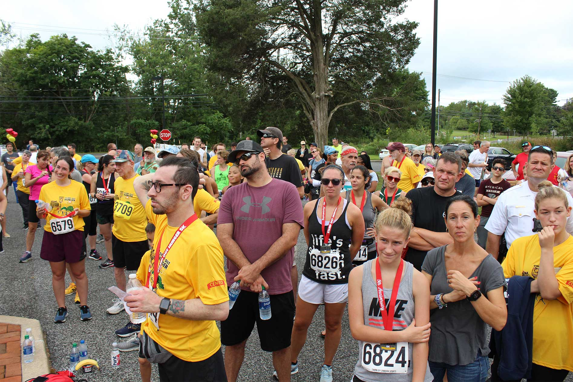 Stamp Out Hunger 5K Crowd