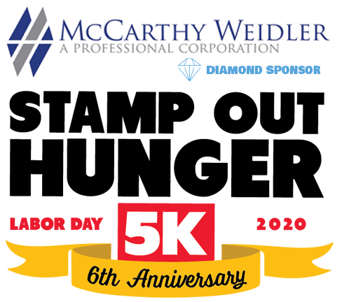 Stamp Out Hunger 5K with Diamond Sponsor McCarthy Weidler P.C